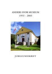 anders svor museum 1953 - 2003 - Sogn og Fjordane Kunstmuseum