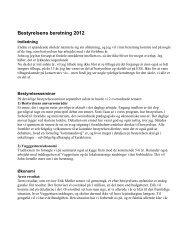 Bestyrelsens beretning 2012 - Elise Smiths Skole