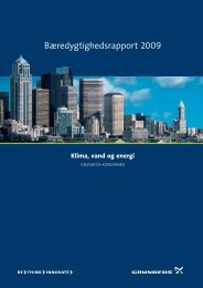 Bæredygtighedsrapport 2009 - Grundfos