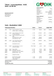 Tilbud - Leveringsaftale 9183 %2 - Studentersamfundet