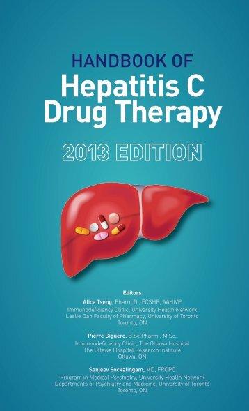 Handbook on Hepatitis C Drug Therapy (2013)