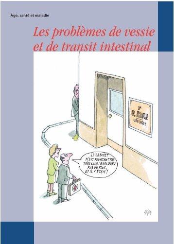 Lorsque la vessie et le transit intestinal posent problème (PDF, 0.73 ...
