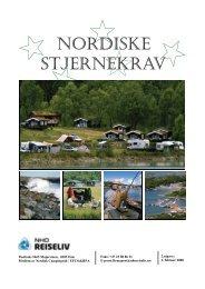 Nordiske stjernekrav camping - NHO Reiseliv