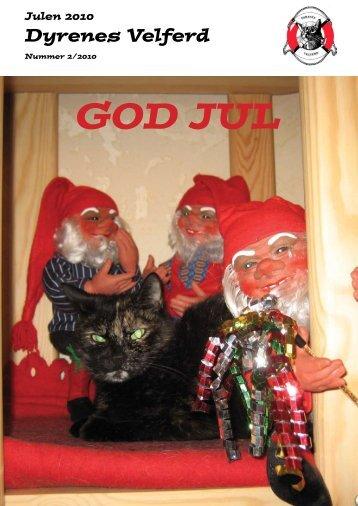 Her kan du lese vårt Julenummer fra år 2010 - Dyrenes Velferd