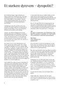 Her kan du lese vårt Julenummer fra år 2010 - Dyrenes Velferd - Page 6