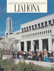 Januar 2002 Liahona - Jesu Kristi Kirke af Sidste Dages Hellige