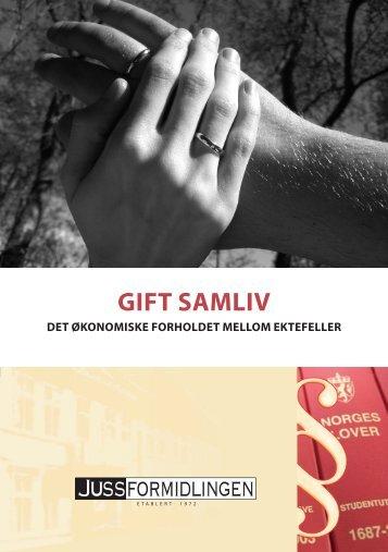 GIFT SAMLIV - Jussformidlingen