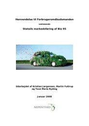henvendelse om Statoil - Verdens Skove