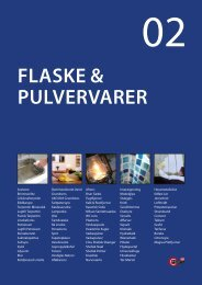 FLASKE & PULVERVARER - C. Flauenskjold A/S