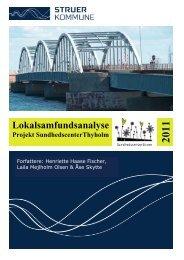 Lokalsamfundsanalyse projekt ... - Struer kommune