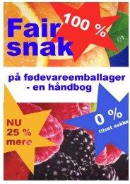 Fair snak på fødevareemballager - FairSpeak-gruppen