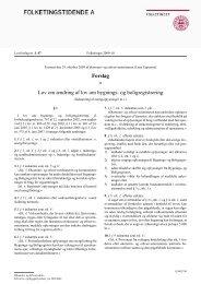 Lovforslag som fremsat - W2L