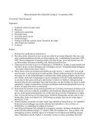 Referat fra bestyrelsesmødet d. 14/9 2006 - HesteInfo