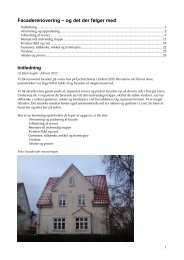 Facaderenovering - og det der følger med - Lyset i Valby