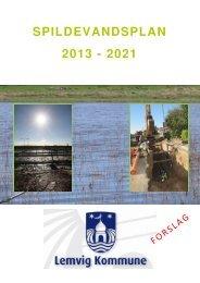 Forslag til Spildevandsplan 2013-2021