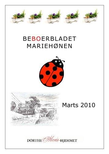 BEBOERBLADET MARIEHØNEN Marts 2010 - Mariehjemmene