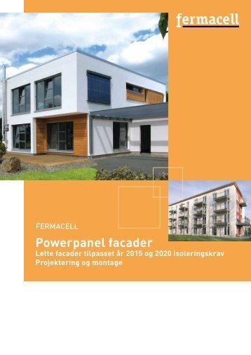 Fermacell Powerpanel facader Projektering og montage
