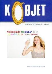 Velkommen til klubår 2011 - Øresunds Sejlklub Frem