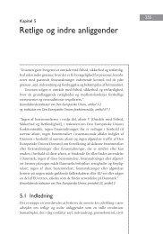 Kapitel 5. Retlige og indre anliggender - DIIS