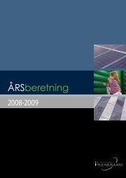 Årsberetning 08-09 - Boligselskabet Fruehøjgaard