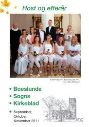 September 2011 - Boeslunde Kirke