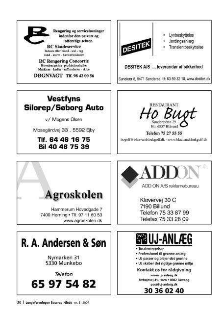 Lungeforeningen Boserup Minde - LungePatient.dk