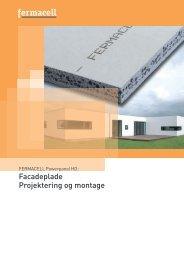 Facadeplade Projektering og montage