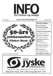 Info nr. 3 2012 - Filskov - InfoLand