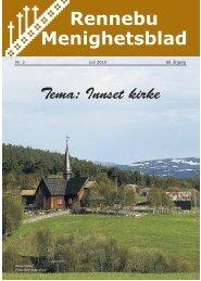 Rennebu Menighetsblad - Rennebu kirkelige fellesråd