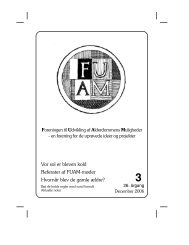 Nyt nr. 3/2006 - Foreningen til Udvikling af Alderdommens Muligheder