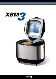 Brugervejledning Bagemaskinen XBM3