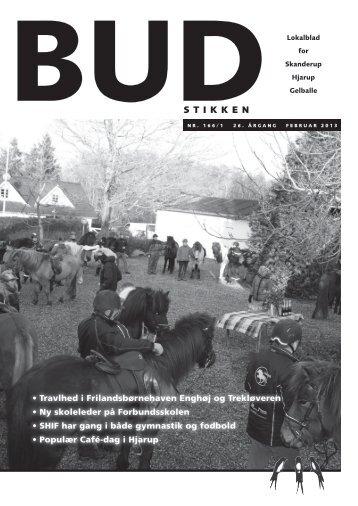 Budstikken Feburar 2013 - Hjarup Kirke - Vamdrup
