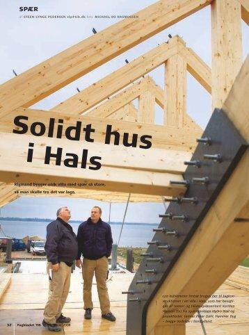 Solidt hus i Hals - Hammer Byg