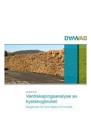 Verdiskapingsanalyse av kystskogbruket - Damvad
