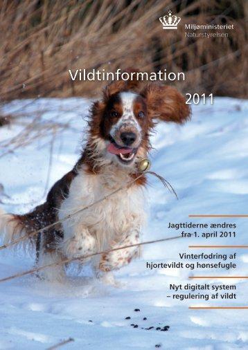 Vildtinformation 2011 Vildtinformation - Naturstyrelsen