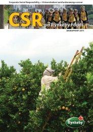 CSRpå Rynkeby Foods - Forside - Rynkeby
