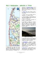 Rute 1: Vestkyststien - delforløb ca. 110 km