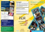 KastrupBIO 31/1 - 13/3 2013