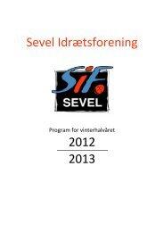 vinterprogram 2012-2013 - Sevel By