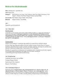 Referat fra 5. september 2011 - SdrFelding.dk