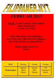 Klubblad februar 2013