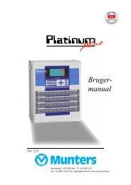 Platinum Plus DK - Munters