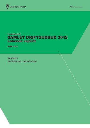 TBL-LVD-DRI-OD-5-03042012 - Vejdirektoratet