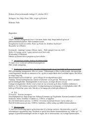 Referat af bestyrelsesmøde tirsdag d. 9. oktober 2012 ... - Falcon BMX