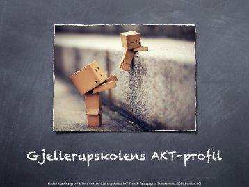 Gjellerupskolens AKT-profil - Thue Eriksen