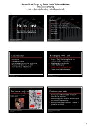 Holocaust - Simon Skov Fougt