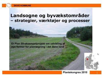 Landsogne og byvækstområder – strategier ... - LandbrugsInfo