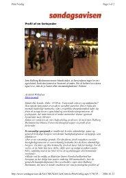 Profil af en fartsynder Jørn Halberg Beckmann mener blandt andet ...