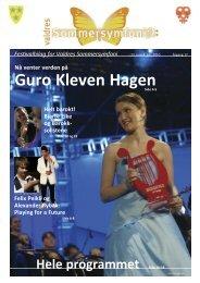 Hele programmet Side 10-18 - Valdres
