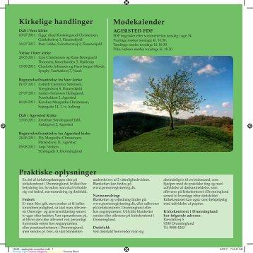 nr. 3 for september - oktober 2011 - Voer og Agersted Sogne